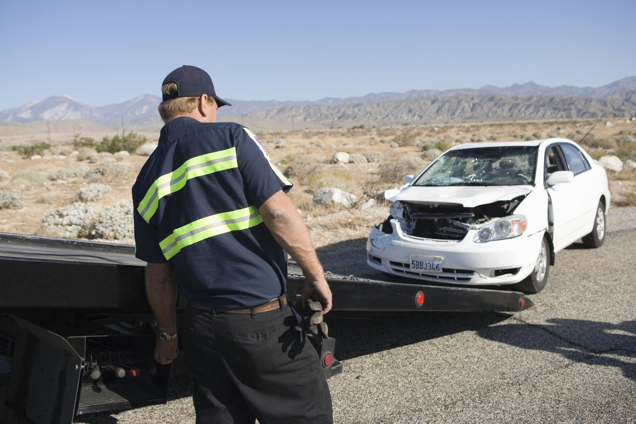 This is a picture of a 24 hour roadside assistance.